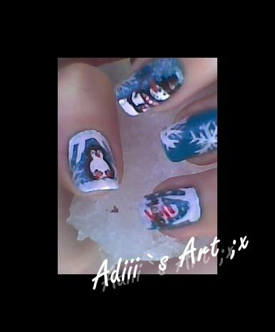 Nails winter ;x