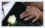 My wedding nails ♥