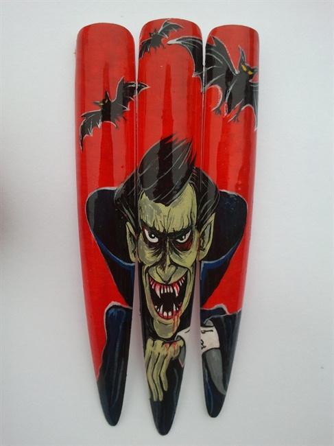 Dracula Art Dracula Nail Art Gallery