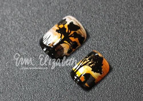 Elephant Safari Nails