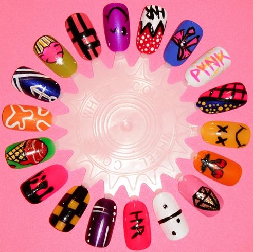 Nail Art Wheel Nail Art Gallery