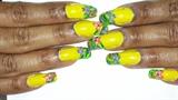 Hawaiian Inspired Nails