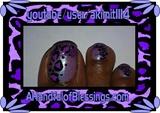 Purple Leopard Toes