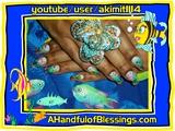 Tropical Fish... Nails