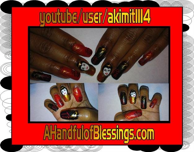 Natural Nails: Oriental Express