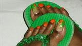 Orange Me Toes