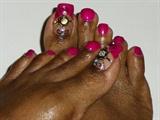 Fuchsia Me Toes