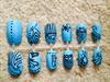 Henna Styles False Nails