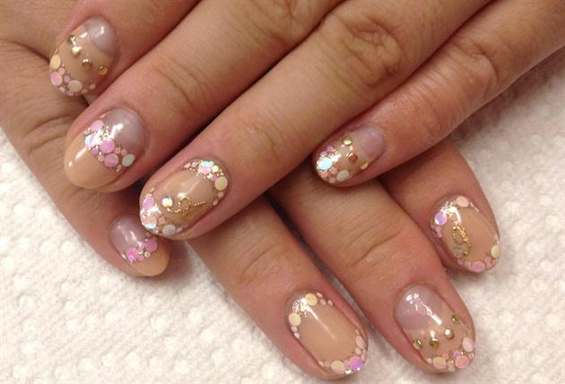 Initial nail art!