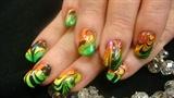 Rainbow Marbleized