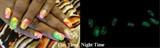 Night Time Glow Water Marbleizing #1