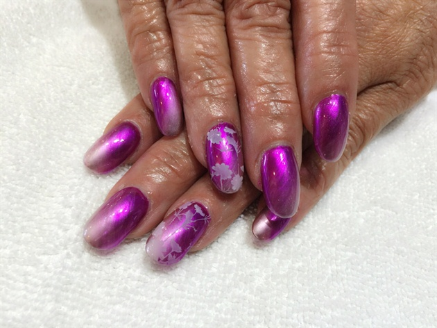 Mirror Effect Chrome Gel Polish