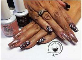 nail art: IBD Diamonds & Dreams