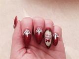Alba nail art Christmas