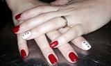 Alba Valentines short nails