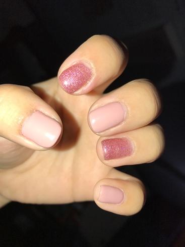 Pink & Glitter Gel😍