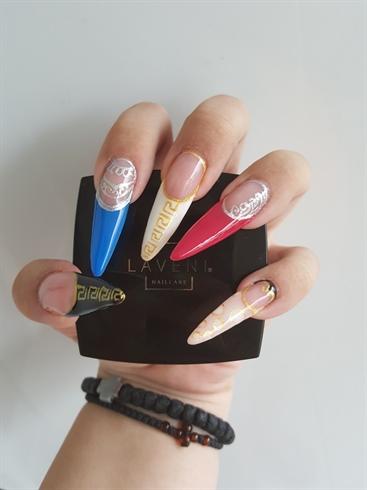 Multicoleurs Nails