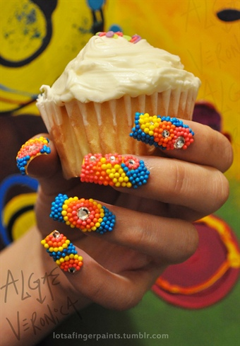 Sprinkles Candy Mani