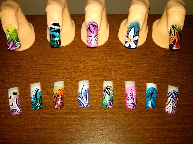 Gel nails by alisa nail art nail art gallery gel nails by alisa nail art prinsesfo Choice Image