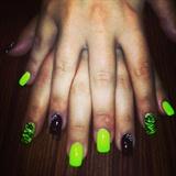 Black&Yellow Nails