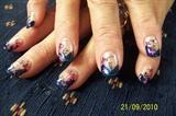 mystical midnight nails