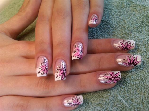 pink floral fantasy