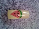 chevron watermelon