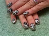 chunky french zebra