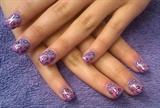 pretty purple leopard parts