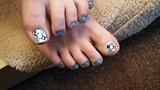 Danielle's Argyle toes