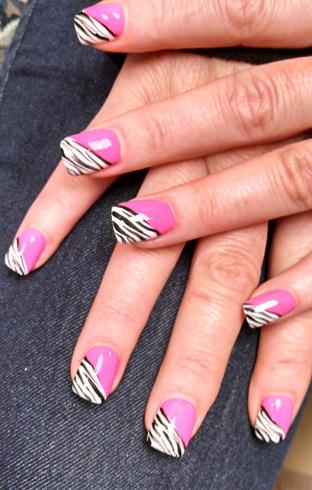 my zebra is pink