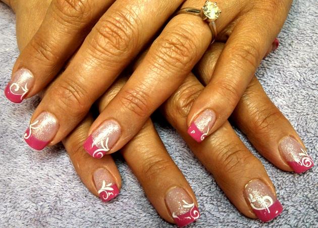pink tip delight