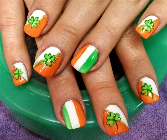 Irish Flag For Justine