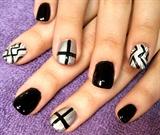 black and white menajeery