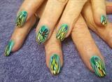 Colored Grass