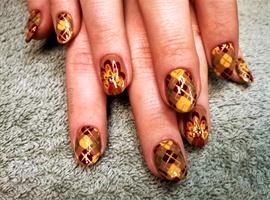 nail art: Turkey 2