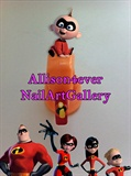 Day 23 Nail Art Challenge: Incredibles