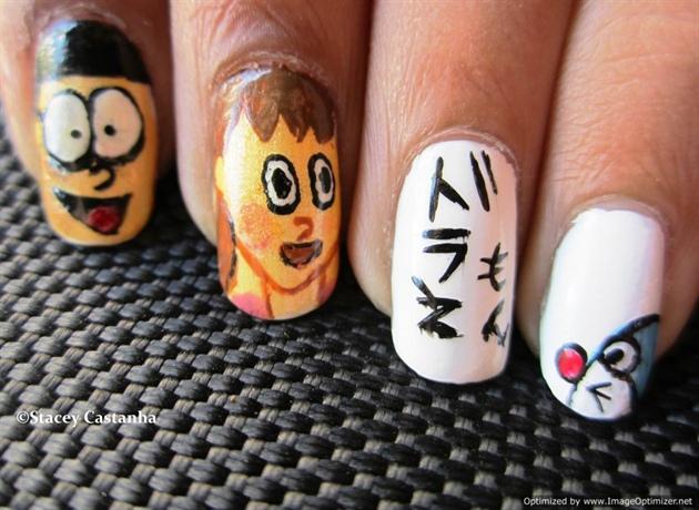 Doraemon Nail Design Nail Art Gallery