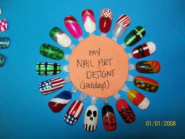 NAIL ART-HOLIDAYS