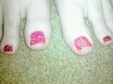 cheetah & zebra toes.