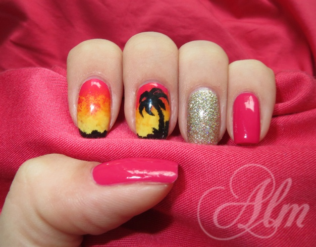 Hawaii ^^ - Hawaii ^^ - Nail Art Gallery