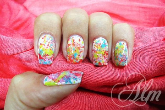 Splatter Nails ^^