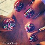 Disco Nails