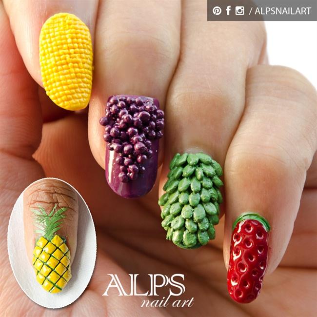Fruit Nails By Alpsnailart Nail Art Gallery