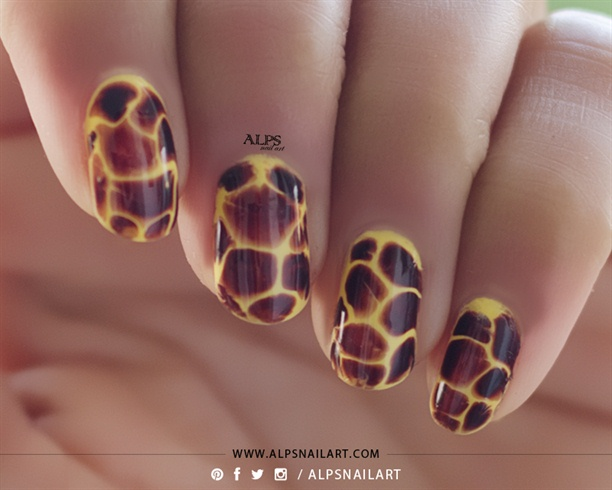 Blobbicure Nails Tutorial @alpsnailart