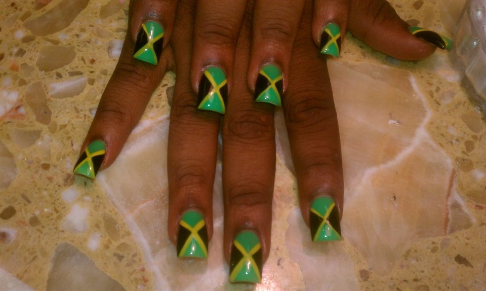 jamaica - Nail Art Gallery
