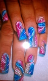 pink & blues