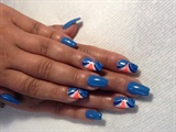 Coffin nails (aka) square stilettos