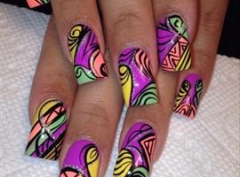 nail art: Color Pop