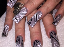 nail art: Funky